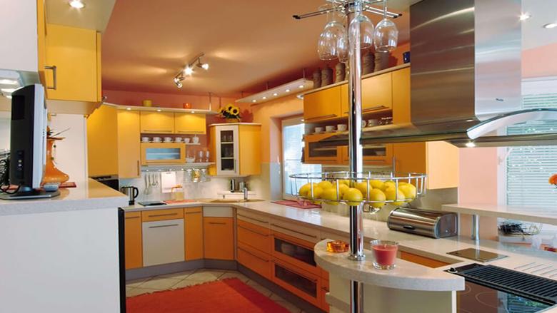 foto:rohová kuchyňská linka